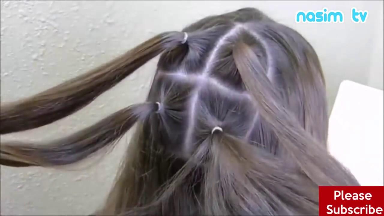 أفضل 3 تسريحات شعر جديدة بالتفصيل للأطفال سهلة جميلة و بسيطة