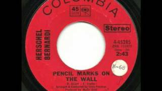 Pencil Marks on the Wall-Herschel Bernardi