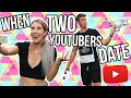 WHEN TWO YOUTUBERS DATE