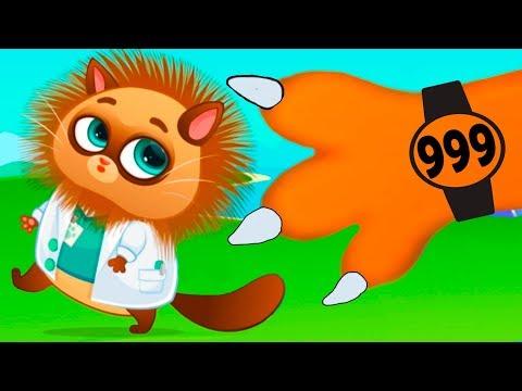 КОТЕНОК БУБУ 999 уровня и Кид отправляются - НАЗАД в БУДУЩЕЕ #98 Bubbu и часы времени.  на пурумчата