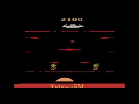 cheap latest discount detailed look Cosmic Creeps for the Atari 2600