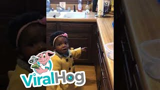 Alexa Struggles to Understand Little Girl    ViralHog thumbnail