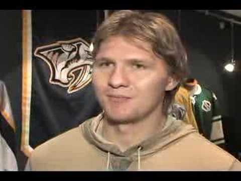 Nashville Predators - Martin Erat Interview