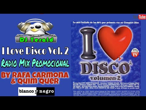 I LOVE DISCO VOL. 2 - Radio Mix Promocional