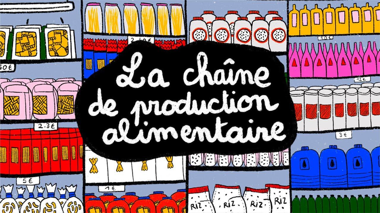 Les Petits Flâneurs - #2 L'alimentation : la chaîne de production alimentaire