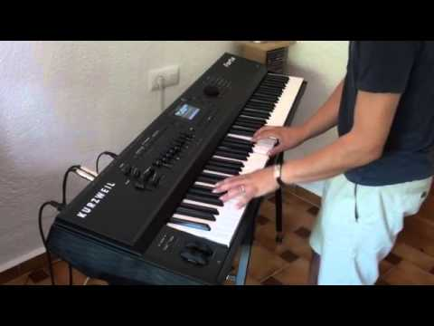 Lykke Li - Gunshot - Piano Cover Version - Played on Kurzweil Forte