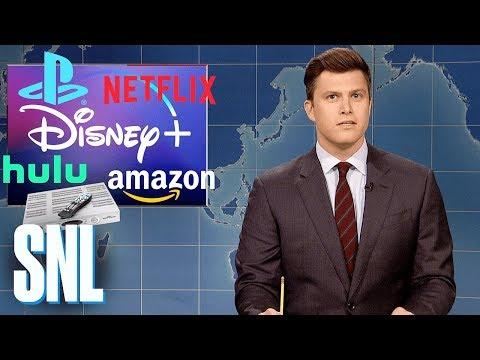 Weekend Update: Disney's New Streaming Service - SNL