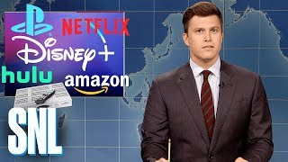 Weekend Update: Disney's New Streaming Service - SNL
