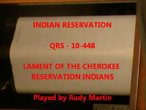 INDIAN RESERVATION - Lament of the Cherokee Reservation Indian