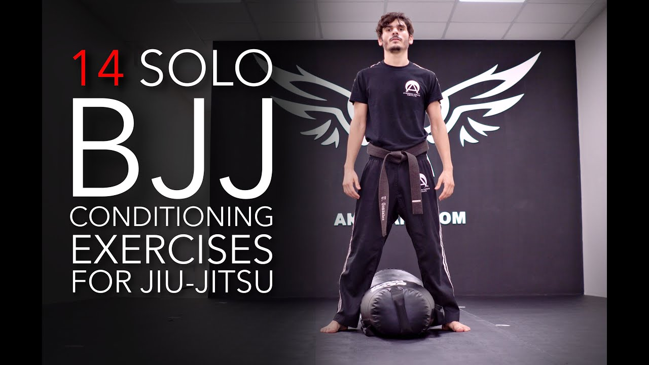 TOP CONDITIONING EXERCISES FOR BJJ  | Jiu Jitsu Solo Bag Training | AKI Miami