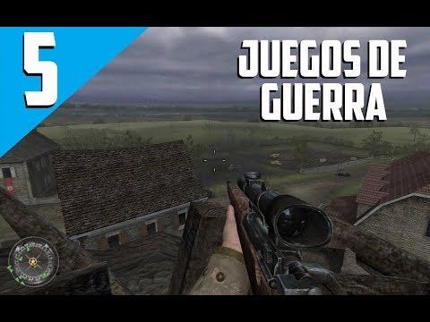 TOP 5 - JUEGOS DE GUERRA PARA PC (POCOS REQUISITOS) (BUENOS GRAFICOS) 2018