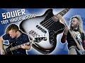 Squier Troy Sander Jaguar Bass [Demo]