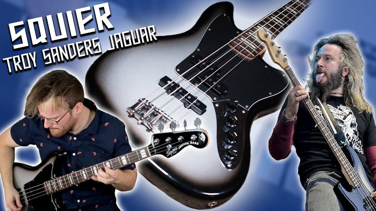 Jaguar Of Troy >> Squier Troy Sander Jaguar Bass Demo