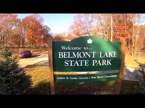 Belmont Lake State Park Drone View Youtube