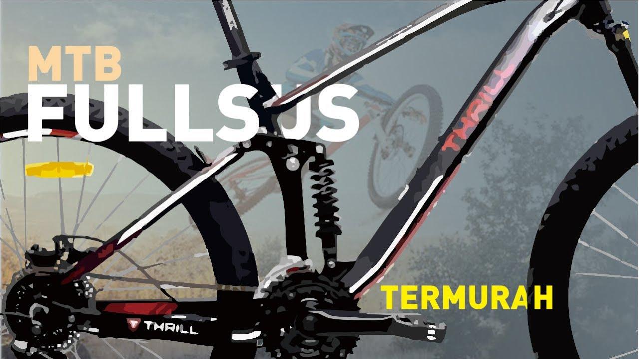 Rekomendasi Sepeda Fullsus dibawah 5 juta Cocok untuk