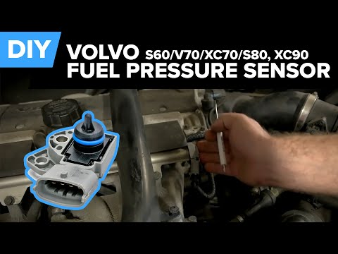 Volvo Fuel Pressure Sensor Replacement - Easy DIY (S60, V70, XC70, S80, XC90)