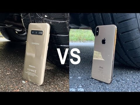 Samsung Galaxy S10 vs iPhone XS Max vs CAR