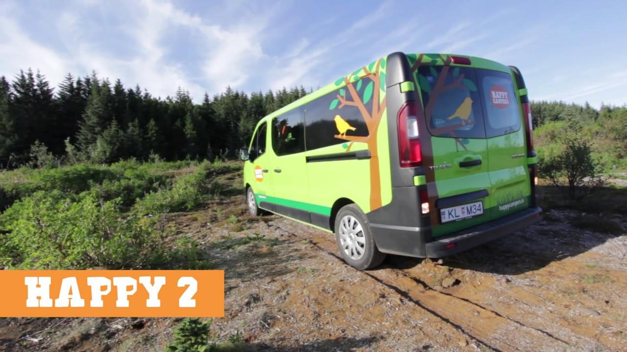 happy 2 camper van