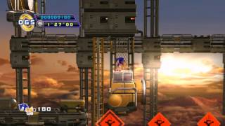 Sonic 4: Episode II - No Homing Attack Playthrough (Sky Fortress Zone, Act 3)
