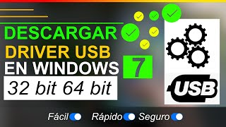Controlador de bus serie universal windows 7 64 bits