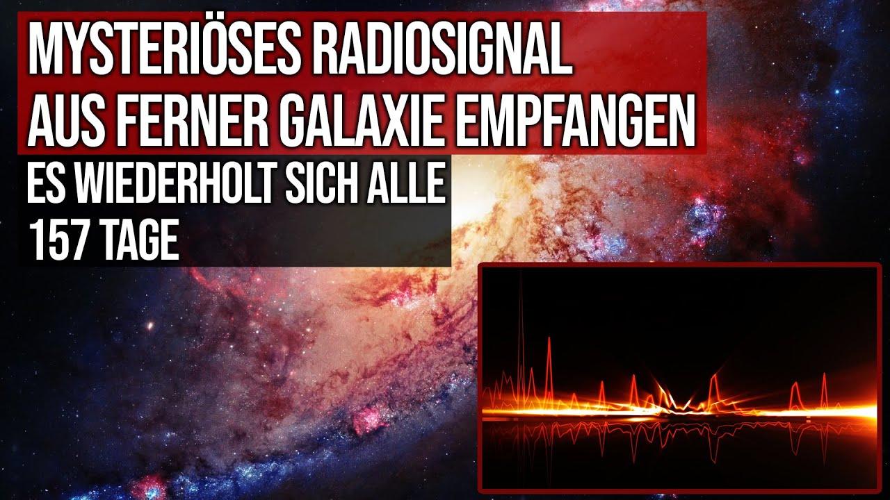 Mysteriöses Radiosignal aus ferner Galaxie empfangen - Es wiederholt sich alle 157 Tage - FRB 121102