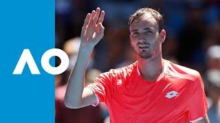 David Goffin v Daniil Medvedev match highlights (3R) | Australian Open 2019