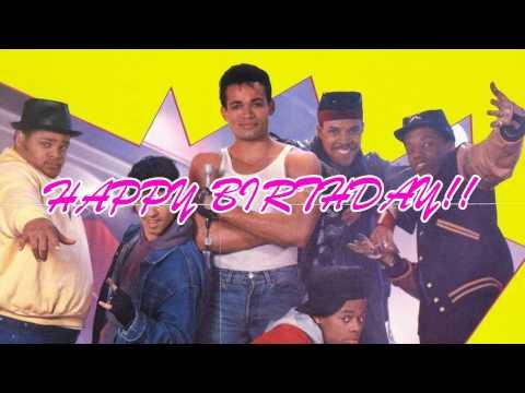 80's birthday rap