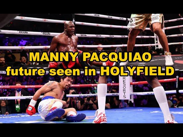 MANNY PACQUIAO FUTURE SEEN IN  HOLYFIELD vs VITOR BELFORT