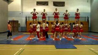 Cardinal Newman Cheerleaders Routine 06/07