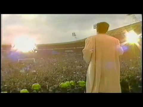 SIMPLE MINDS - Waterfront Mandela 70th Wembley 1988