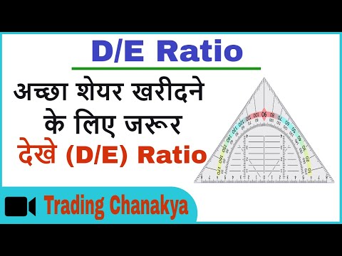 debt to equity ratio explained in hindi - By trading chanakya