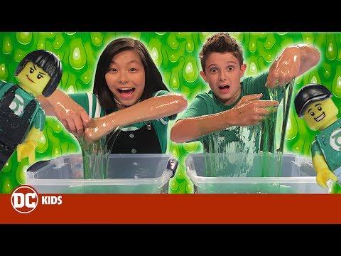 DC Toy Slime Challenge | DC KIDS SHOW