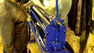 Вальцы электромеханические СТЭ-РП 1250/1(Вальцы могут быть изготовлены как в ручном исполнении так и с электроприводом. Данный станок можно купить..., 2015-03-26T14:05:02.000Z)