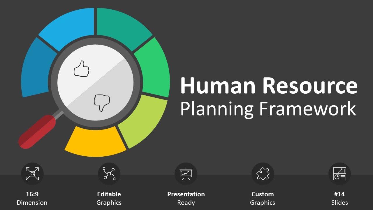 Human Resource Planning Framework Editable Powerpoint