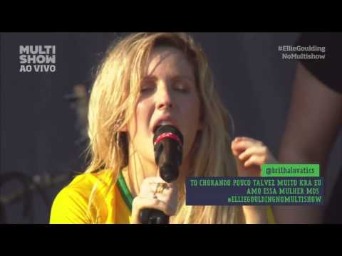 Lights - Ellie Goulding Live Lollapalooza Brasil