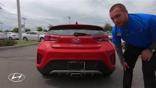 Car Review 2019 Hyundai Veloster Premium смотреть