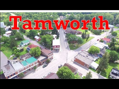 Tamworth aerial tour . Summer 2017