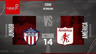 EN VIVO | En el Fenómeno del Fútbol | Junior vs America - Fecha 14 de la Liga Betplay.