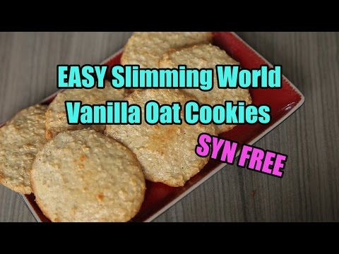 EASY Slimming World Vanilla Oat Cookies - SYN FREE