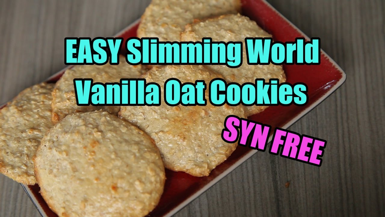 Easy Slimming World Vanilla Oat Cookies Syn Free Youtube