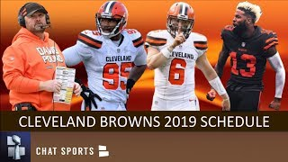Browns 2019 Schedule: Breaking Down Opponents, Game Previews & Predictions For NFL Regular Season