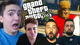 GTA 5 Online - KURT ADAM!! (4 Facecam)