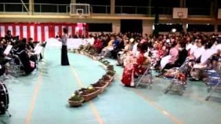 宮崎市宮崎東中地区成人式(動画) ヘビーローテーション