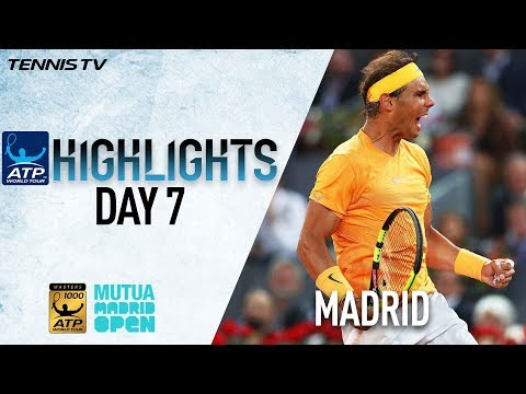 Highlights Nadal Wins 50th Straight Clay-Court Set Madrid 2018
