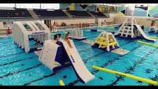 AQUAGLIDE Commercial Pool l Hulbert Aquatic Center, North Dakota USA