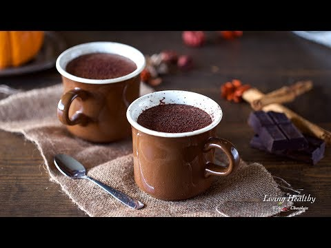 Pumpkin Hot Chocolate with Homemade Almond-Coconut Milk (Vegan, Paleo)