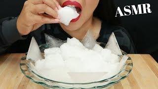 REFROZEN SHAVED ICE ~ ASMR ( No Talking ) Eat Life With Kimchi