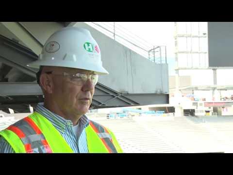 Sun Devil Stadium installs new video board | Cronkite News
