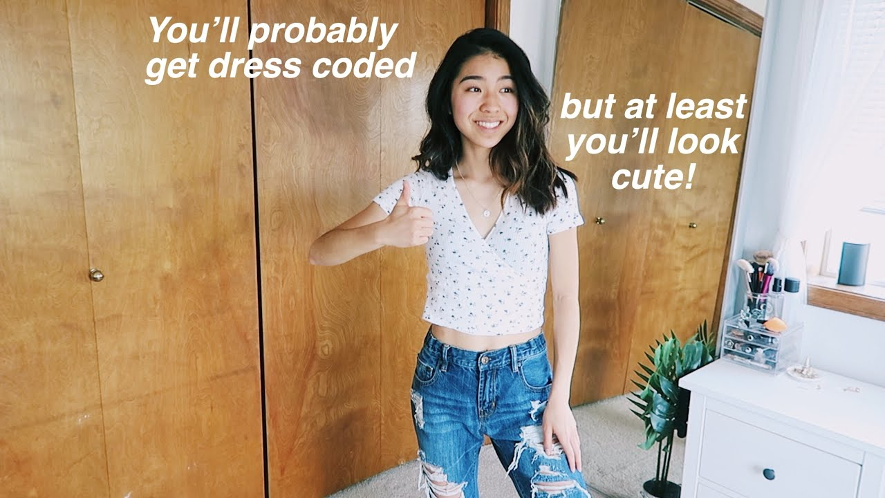 Cute Outfit Ideas For School To Look Summer Ready Youtube