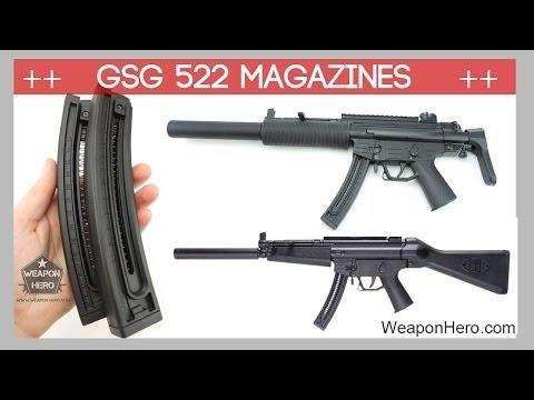 GSG 522 Magazine - 22 Round Magazine & 10 Round Magazine